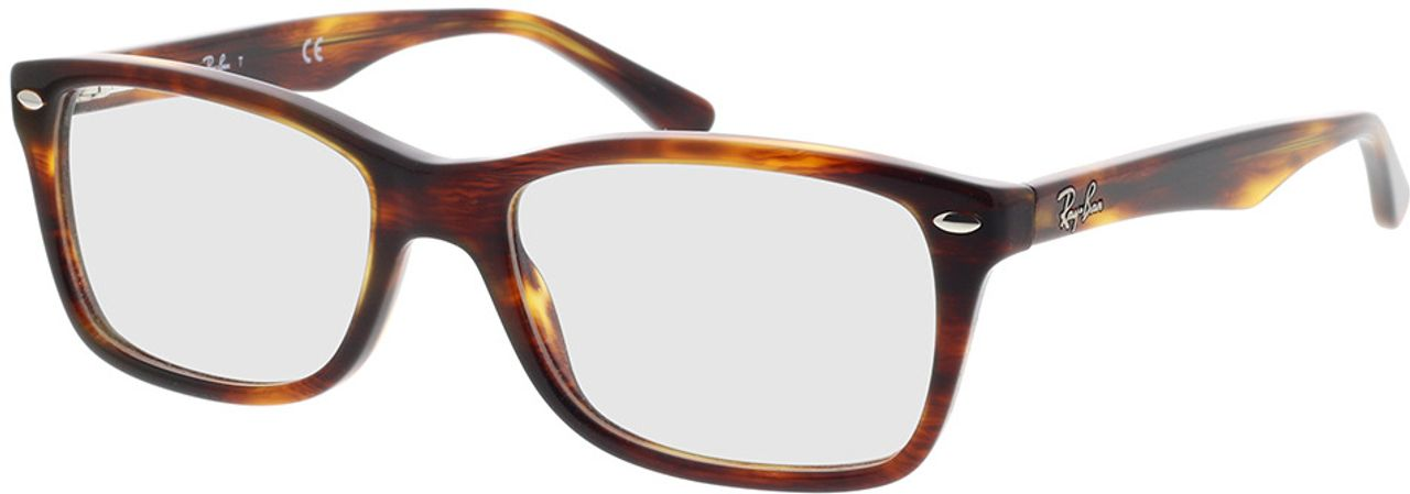 Picture of glasses model Ray-Ban RX5228 2144 53-17 in angle 330