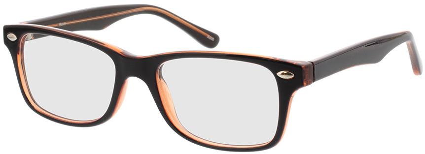 Picture of glasses model Revo-castanho escuro/castanho-transparente in angle 330