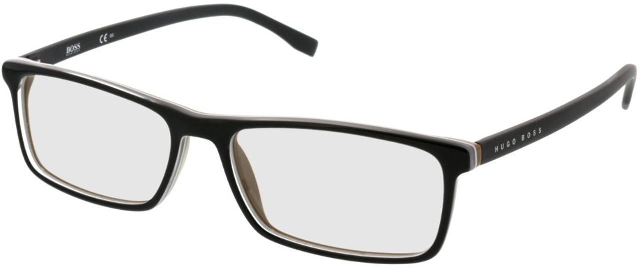 Picture of glasses model Boss BOSS 0765 QHI 55-16 in angle 330