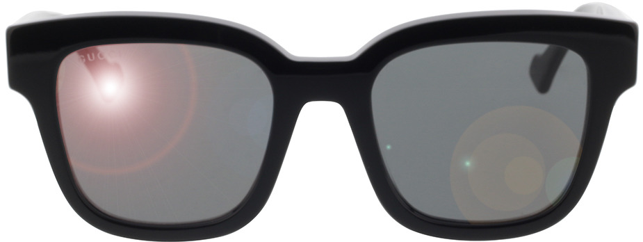 Picture of glasses model Gucci GG0998S-001 52-21 in angle 0