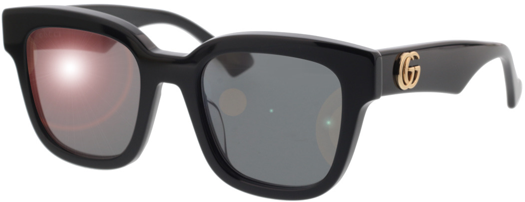 Picture of glasses model Gucci GG0998S-001 52-21 in angle 330