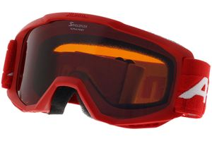 Skibrille PINEY SH Red SINGLEFLEX hicon