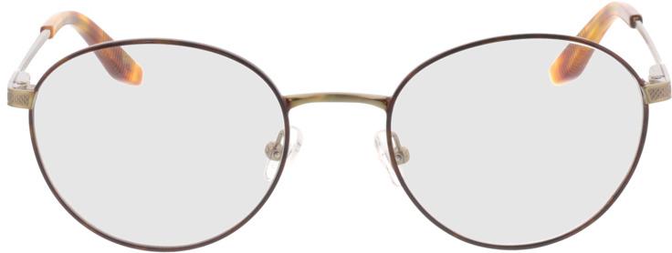 Picture of glasses model Orelia-bronze/gold in angle 0