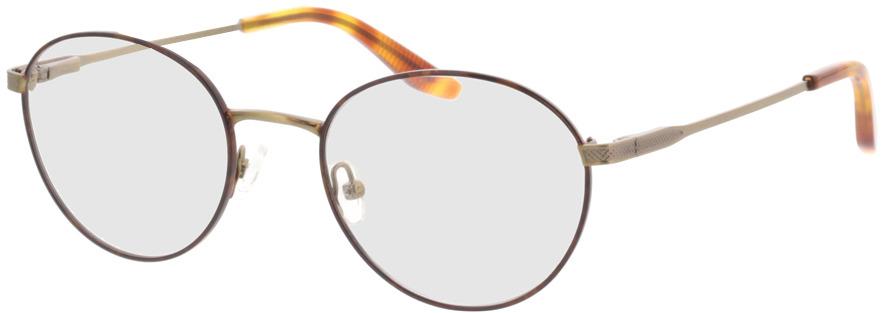 Picture of glasses model Orelia-bronze/gold in angle 330