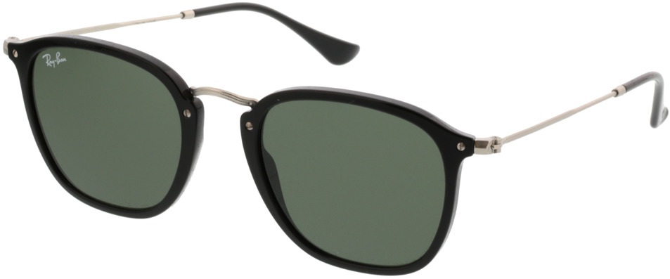 Picture of glasses model Ray-Ban RB2448N 901 51-21 in angle 330