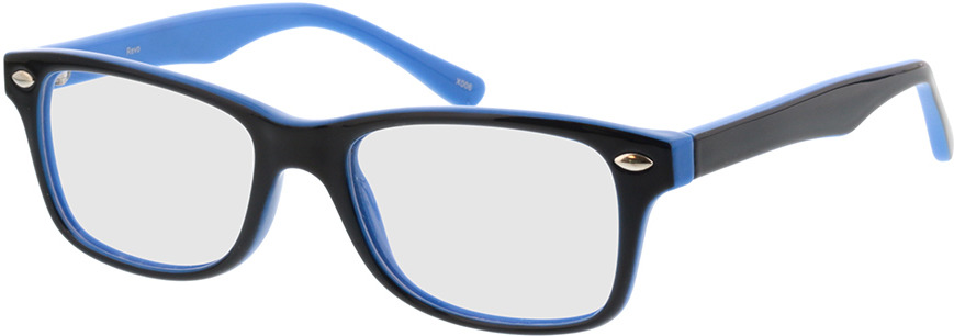 Picture of glasses model Revo-dunkelblau/hellblau in angle 330