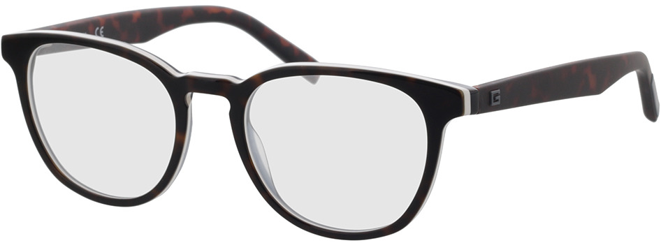 Picture of glasses model Guess GU50033 052 51-19 in angle 330