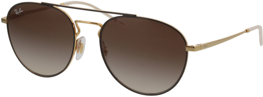 Picture of glasses model Ray-Ban RB3589 905513 55-18