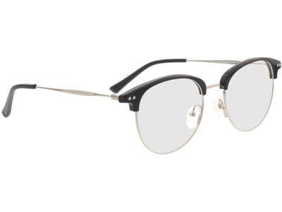 Brille Morwell-schwarz/silber
