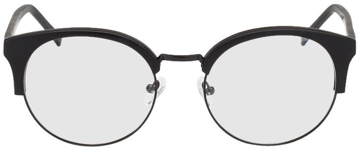 Picture of glasses model Greenock zwart in angle 0