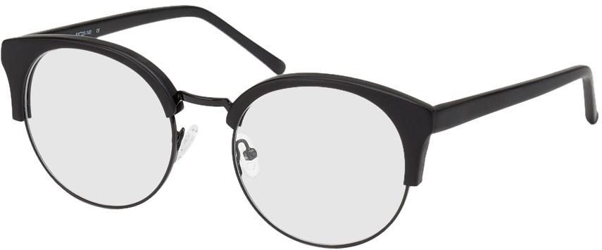 Picture of glasses model Greenock zwart in angle 330