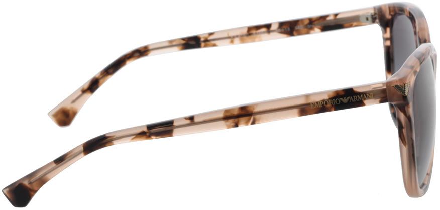 Picture of glasses model Emporio Armani EA4060 57668G 56-18 in angle 90
