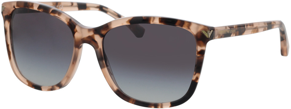 Picture of glasses model Emporio Armani EA4060 57668G 56-18 in angle 330