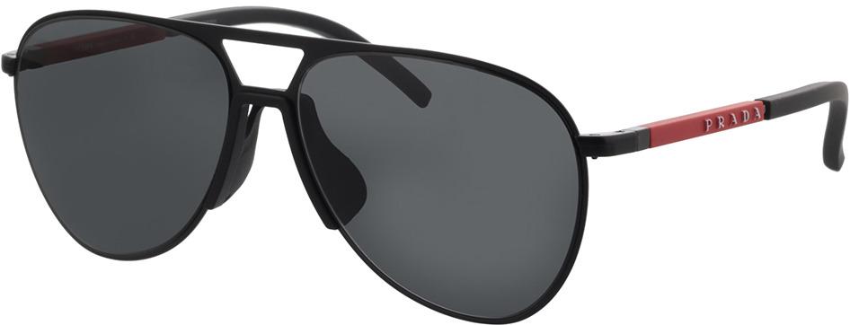 Picture of glasses model Prada Linea Rossa PS 51XS 1BO06L 59-15 in angle 330