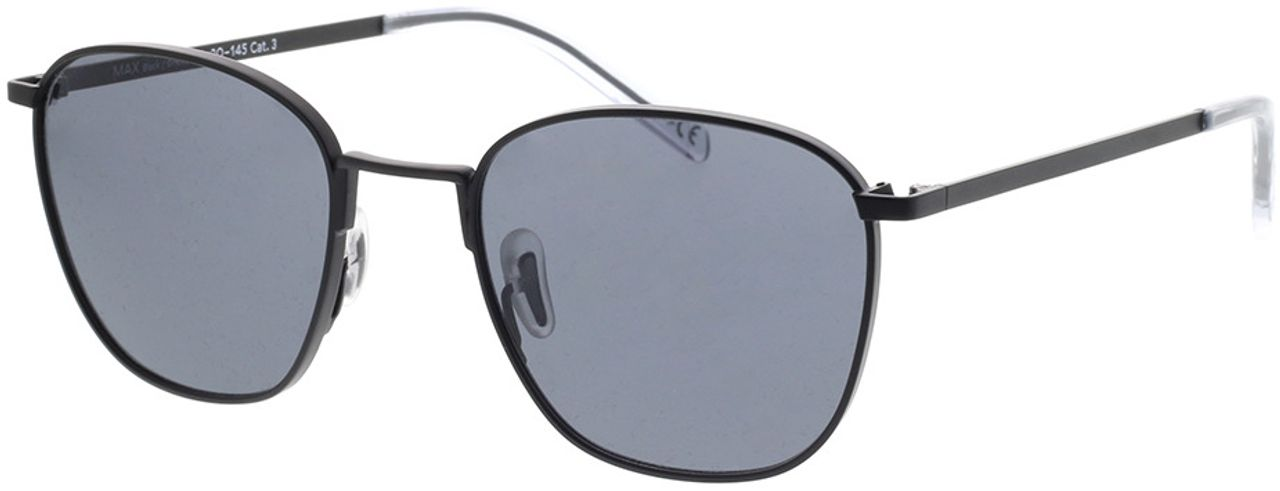 Picture of glasses model TAKE A SHOT Max: Black 51-20 in angle 330