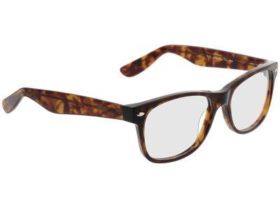 Brille New Haven-braunmeliert