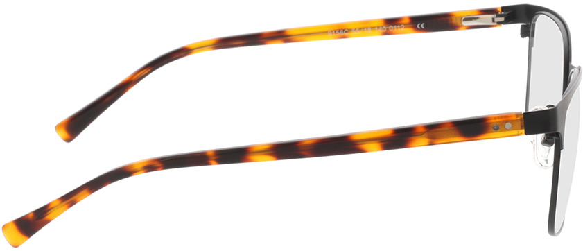 Picture of glasses model Viviano-schwarz/braun-meliert in angle 90