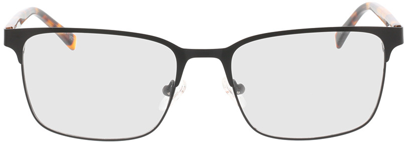 Picture of glasses model Viviano-schwarz/braun-meliert in angle 0