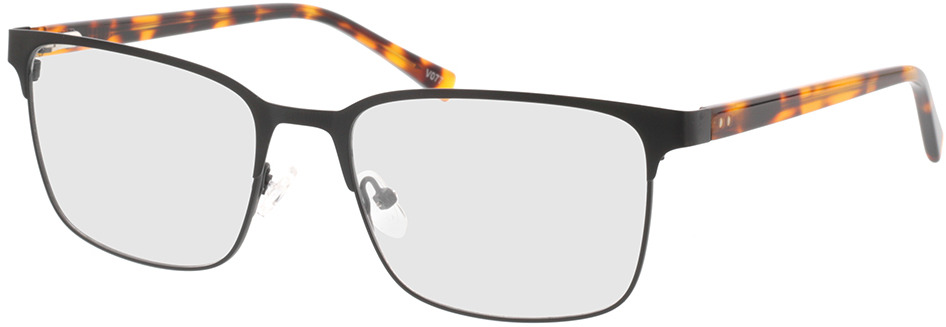 Picture of glasses model Viviano-schwarz/braun-meliert in angle 330