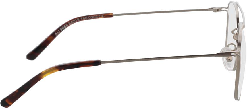 Picture of glasses model Harvey silver/havana in angle 90