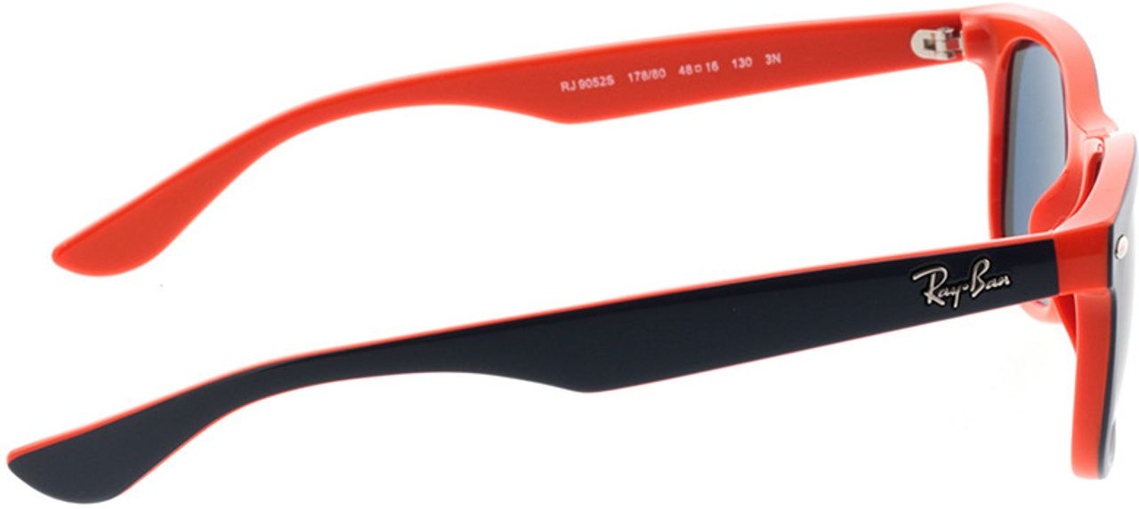 Picture of glasses model Ray-Ban Junior RJ9052S 178/80 48-16 in angle 90