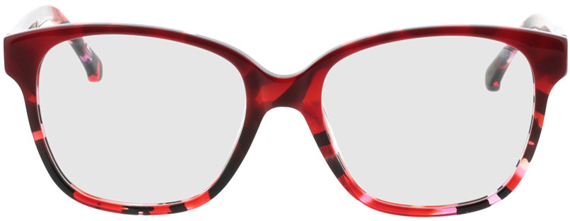 Picture of glasses model Marta-rot-meliert in angle 0