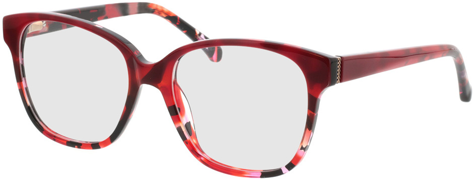 Picture of glasses model Marta-rot-meliert in angle 330