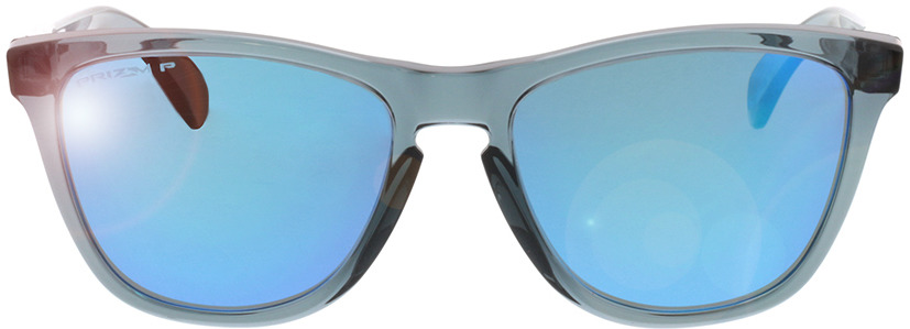 Picture of glasses model Oakley Frogskins OO9013 F6 55-17 in angle 0