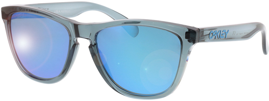 Picture of glasses model Oakley Frogskins OO9013 F6 55-17 in angle 330