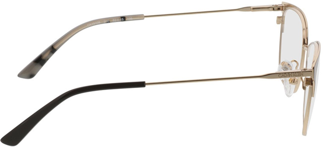 Picture of glasses model Calvin Klein CK38057 200 52-15 in angle 90