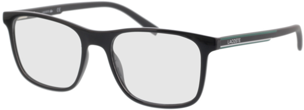 Picture of glasses model Lacoste L2848 001 53-18 in angle 330