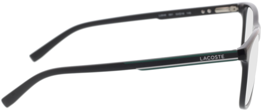 Picture of glasses model Lacoste L2848 001 53-18 in angle 90