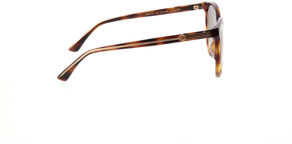 Picture of glasses model Gucci GG0377SK-003 57-16  in angle 90