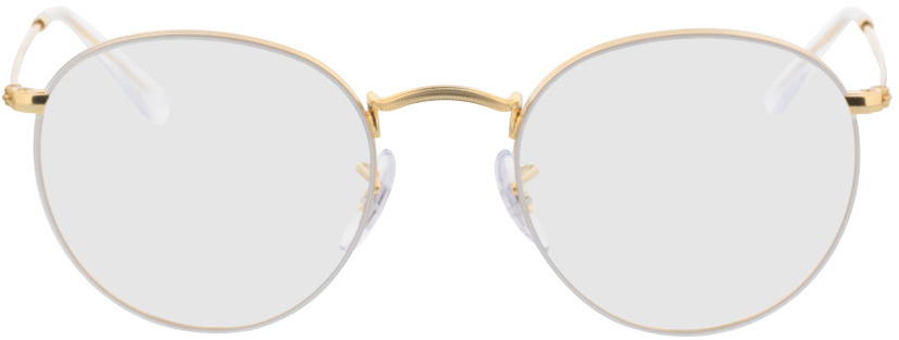 Picture of glasses model Ray-Ban RX3447V 3104 50-21 in angle 0