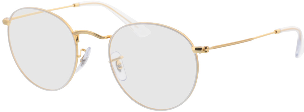 Picture of glasses model Ray-Ban RX3447V 3104 50-21 in angle 330