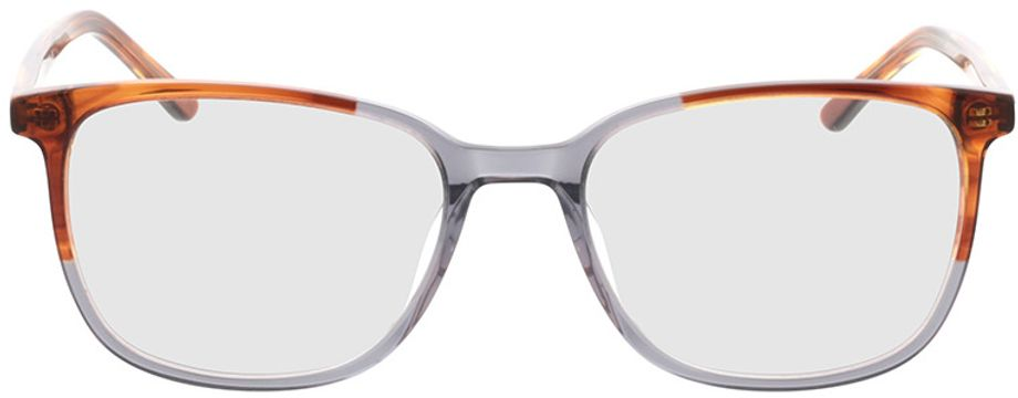 Picture of glasses model Licata-brown-mottled-grey in angle 0