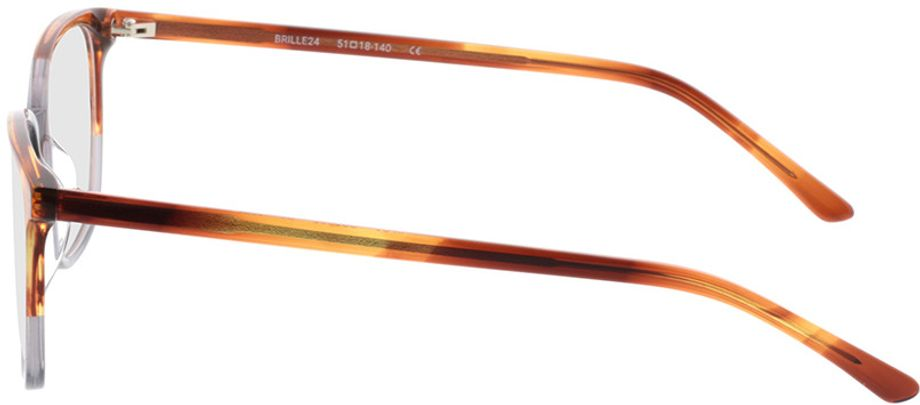 Picture of glasses model Licata-brown-mottled-grey in angle 270