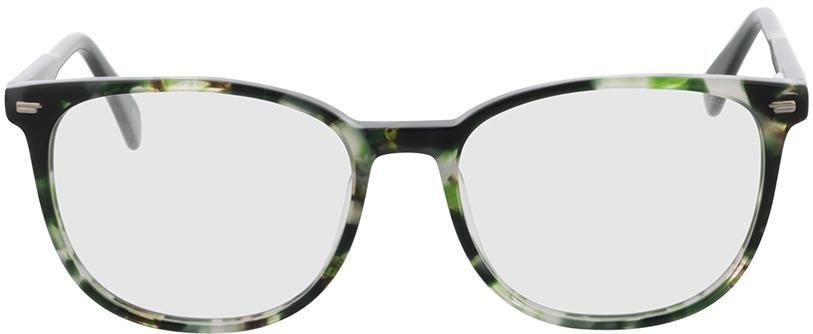 Picture of glasses model Katy groen-gevlekt in angle 0