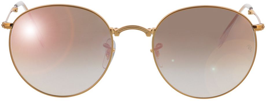 Picture of glasses model Ray-Ban Round Metal Folding RB3532 198/7Y 53-20 in angle 0