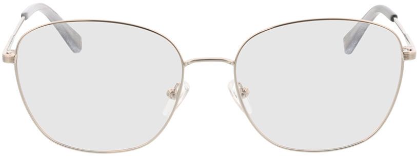 Picture of glasses model Selene-silber/grau horn in angle 0