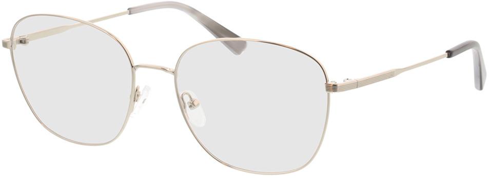 Picture of glasses model Selene-silber/grau horn in angle 330