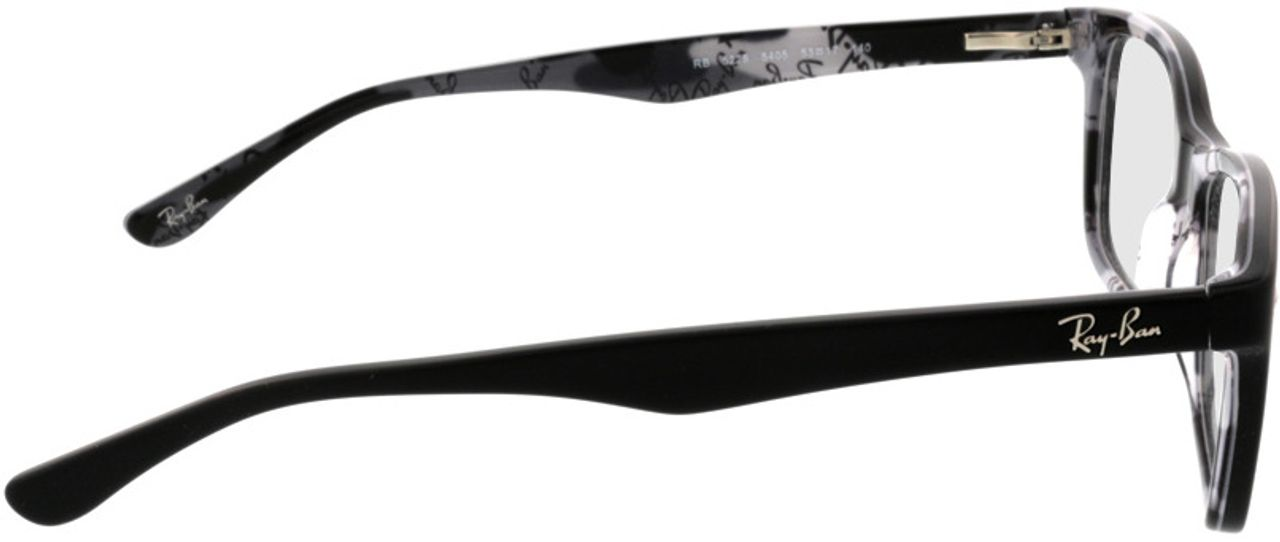 Picture of glasses model Ray-Ban RX5228 5405 53-17 in angle 90
