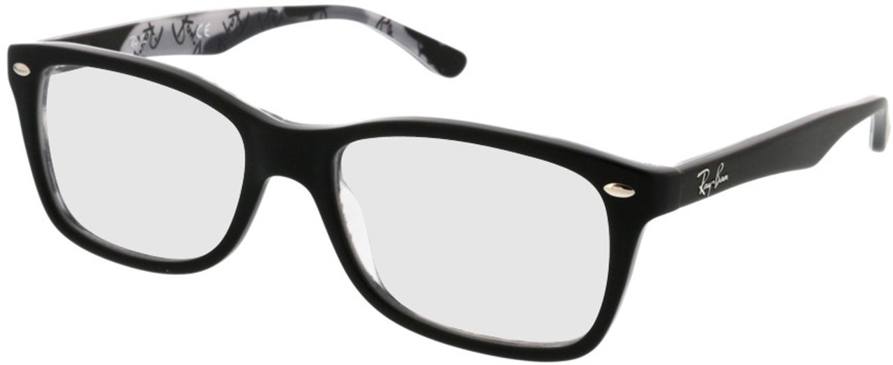 Picture of glasses model Ray-Ban RX5228 5405 53-17 in angle 330
