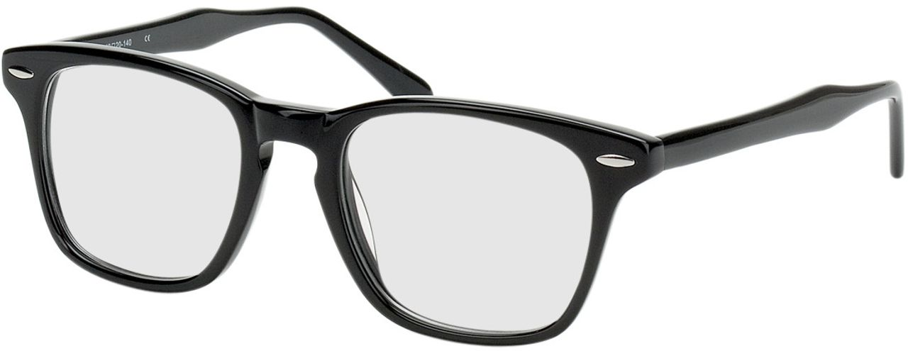 Picture of glasses model Heredia-black in angle 330