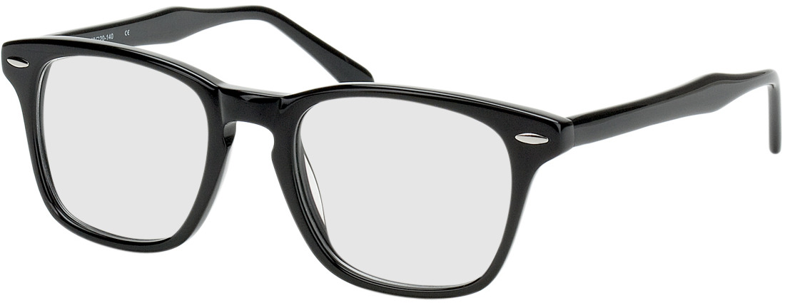 Picture of glasses model Heredia black in angle 330
