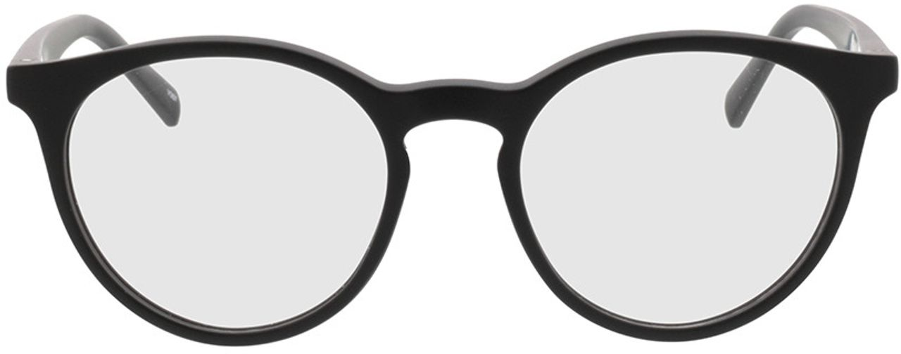 Picture of glasses model Oxalis-schwarz in angle 0