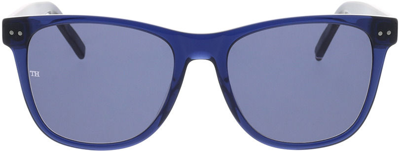 Picture of glasses model Tommy Hilfiger TH 1712/S GEG 54-18 in angle 0