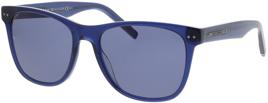Picture of glasses model Tommy Hilfiger TH 1712/S GEG 54-18 in angle 330