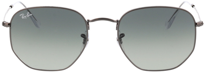 Picture of glasses model Ray-Ban Hexagonal Flat Lenses RB3548N 004/71 54-21 in angle 0