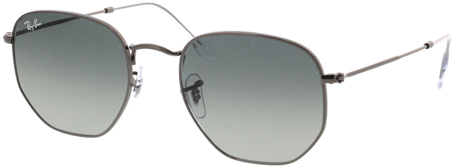 Picture of glasses model Ray-Ban Hexagonal Flat Lenses RB3548N 004/71 54-21 in angle 330